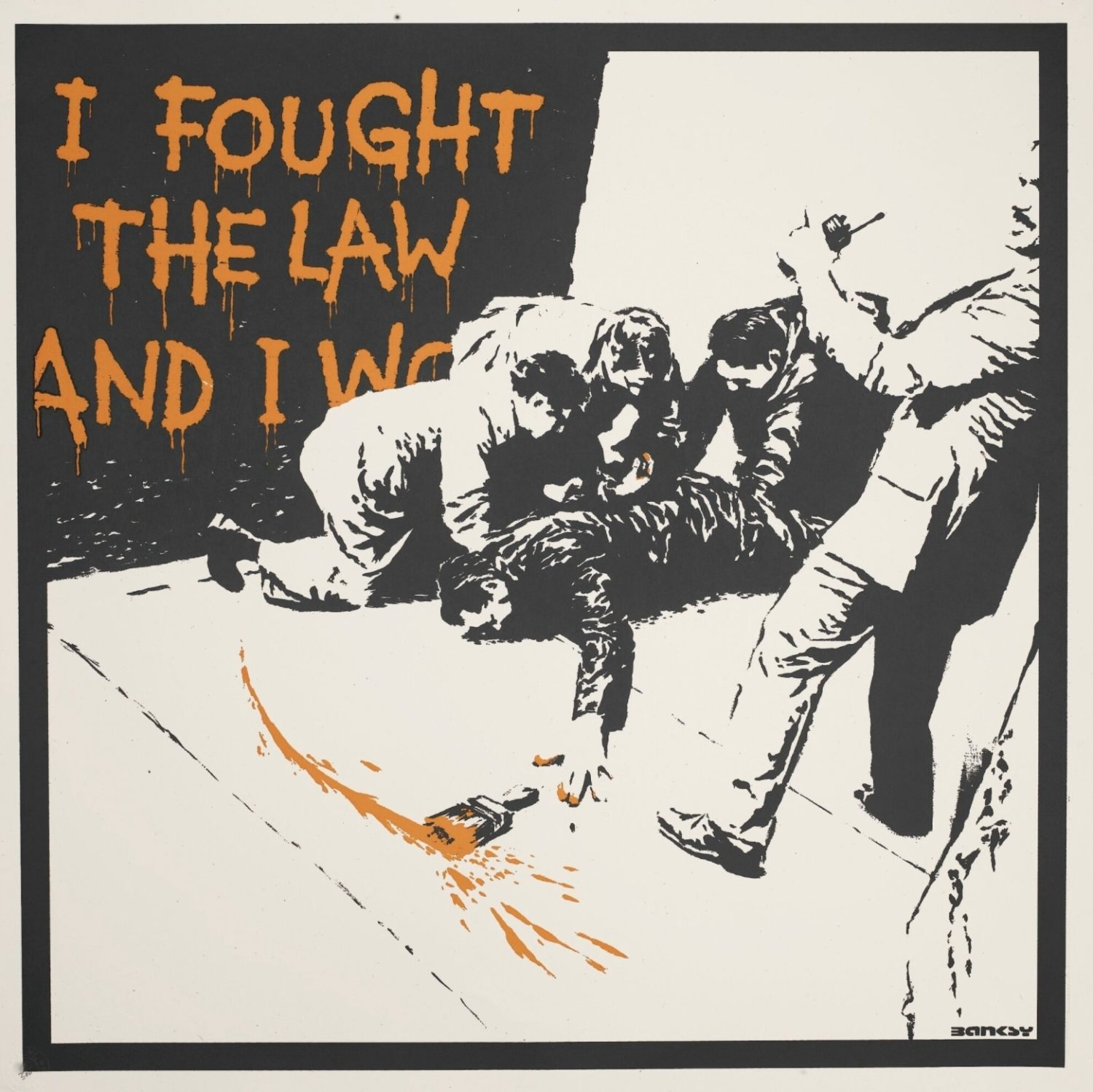 I Fought the Law - Unsigned