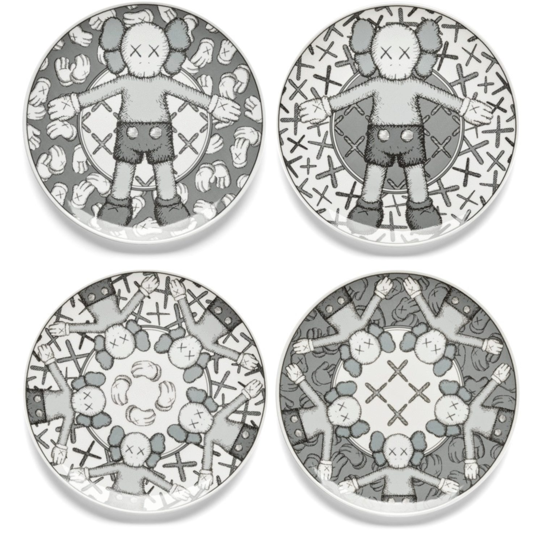 Holiday Plate Set (Grey)