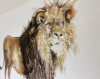 Lion II - Gold Leaf