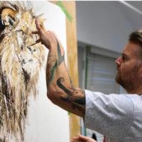 Lion XXL (Hand Finished)