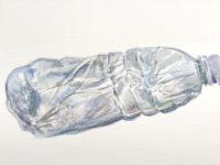 Watercolour Water Bottle