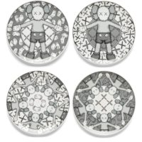 Holiday Plate Set (Grey)