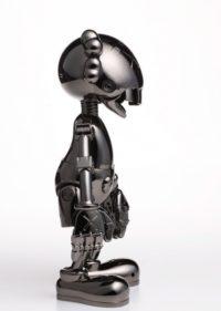 No Future Companion - Hajime Sorayama Version (Black Chrome)