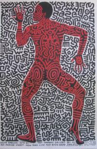 Signed Into 84 - Tony Shafrazi Vintage Gallery Poster