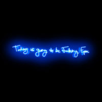 Fucking Epic (Electric Blue) - Neon