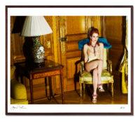 Julianne Moore at the Crillon Hotel, Paris, 2008