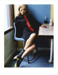 Kate in Blue Cafe, 2005