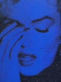 Marilyn Crying (Mediterranean Blue)