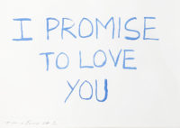 I Promise To Love You, And Then Again at 5am (Set of two)