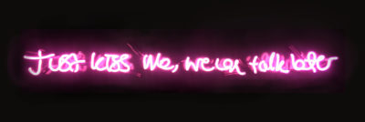Action Over Word - Neon