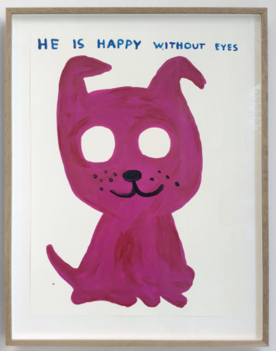 Untitled (He Is Happy Without Eyes)