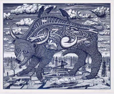 Animal Spirit (Blue)