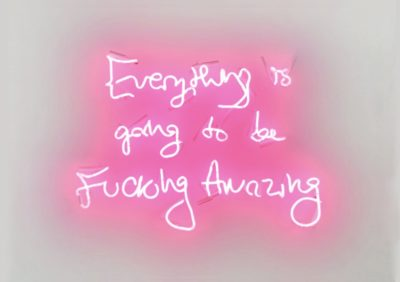 Fucking Amazing (Pink) - Neon