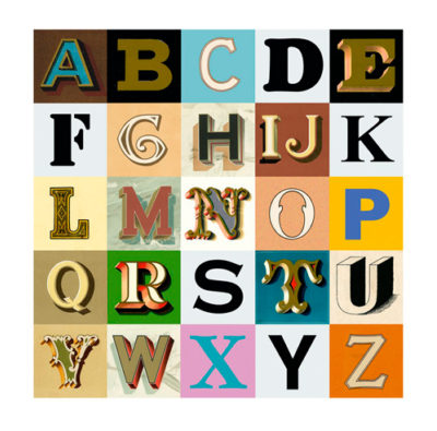 Appropriated Alphabets 9