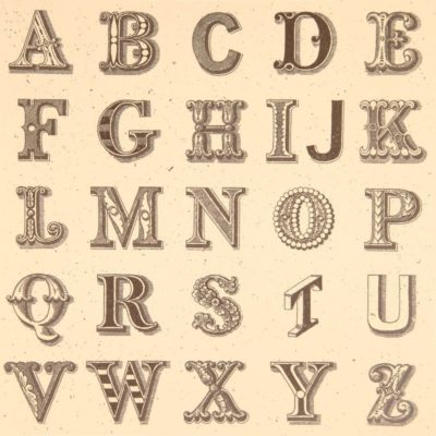 Appropriated Alphabets 1