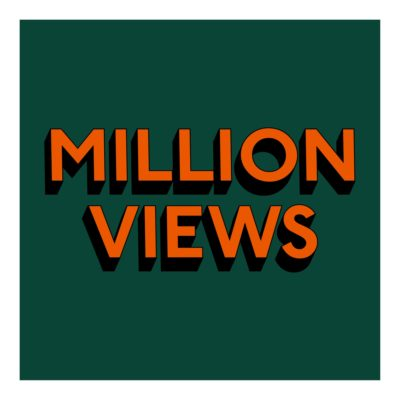MILLION VIEWS - Print