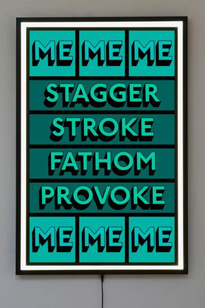 STAGGER ME – Light box