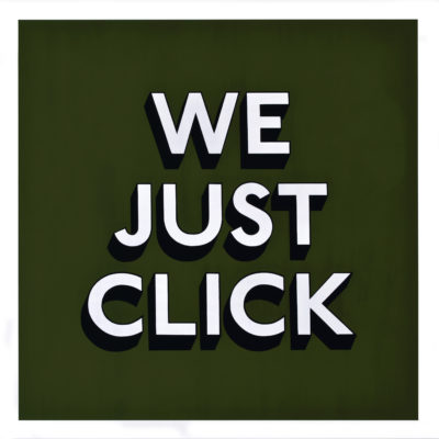 WE JUST CLICK - Print