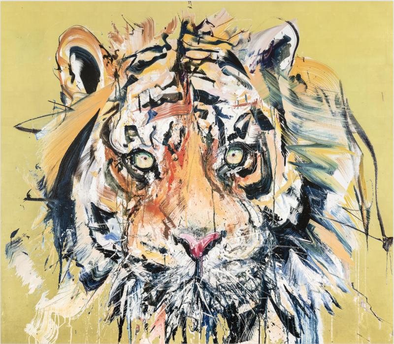 Tiger - Gold Leaf