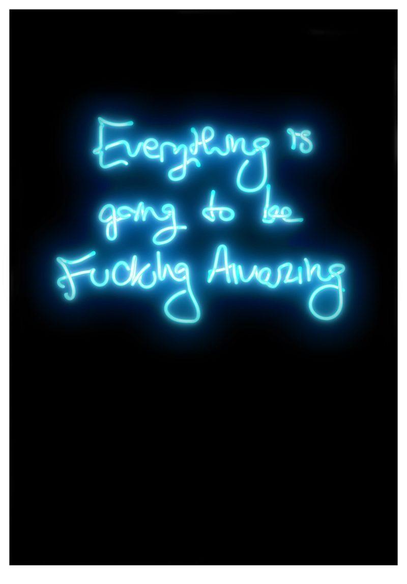 Fucking Amazing (Blue)