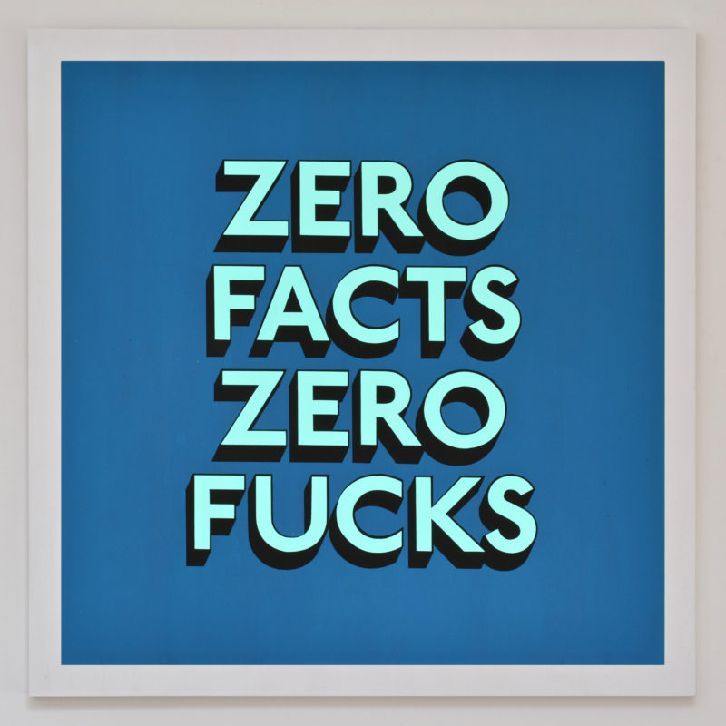 ZERO FACTS ZERO FUCKS