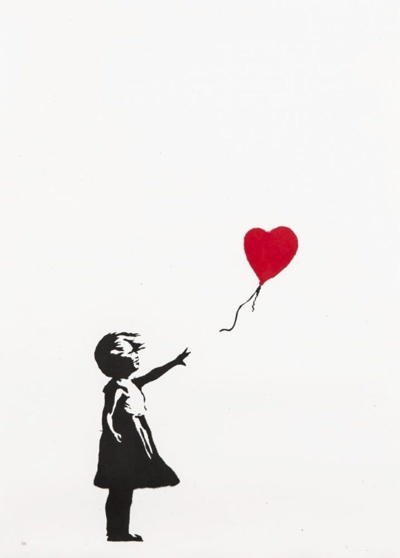 Girl With Balloon - Unsigned