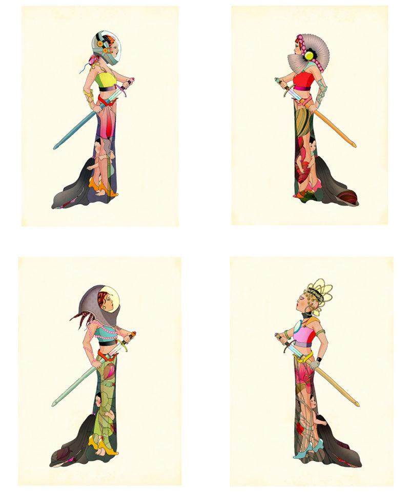 Amazonian - Set of four