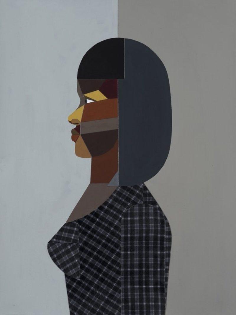 Figure Walking Into the Light (Woman)