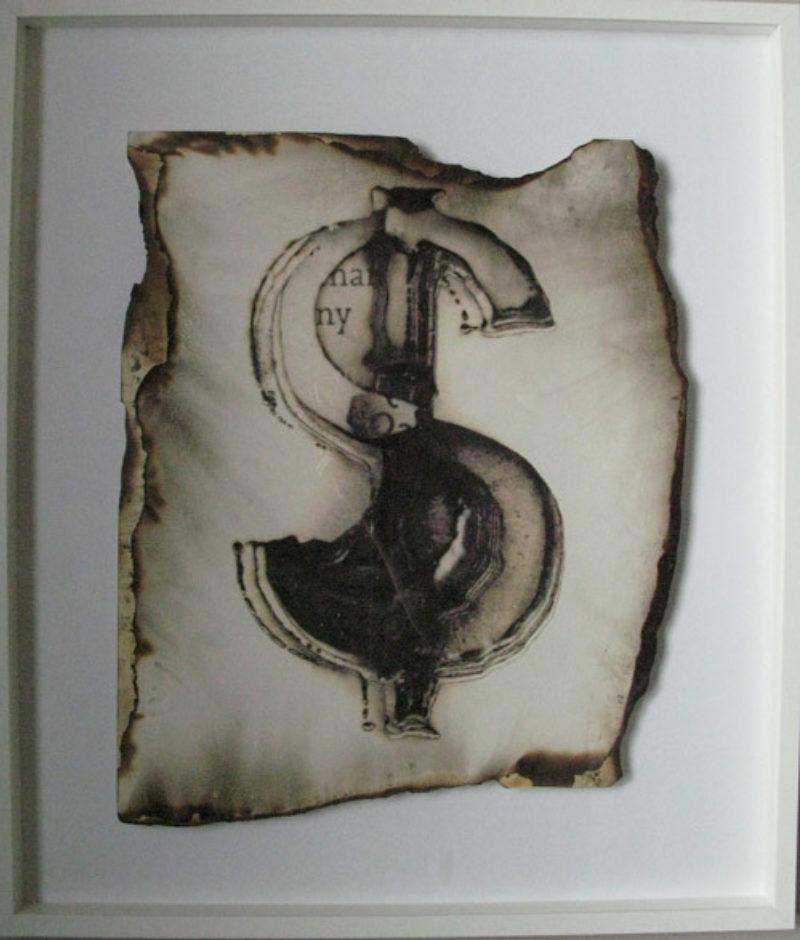 Dollar 1 (Framed)