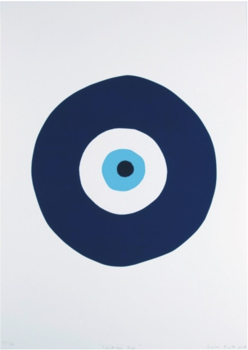 Turkish Eye (Blue and Turquoise)