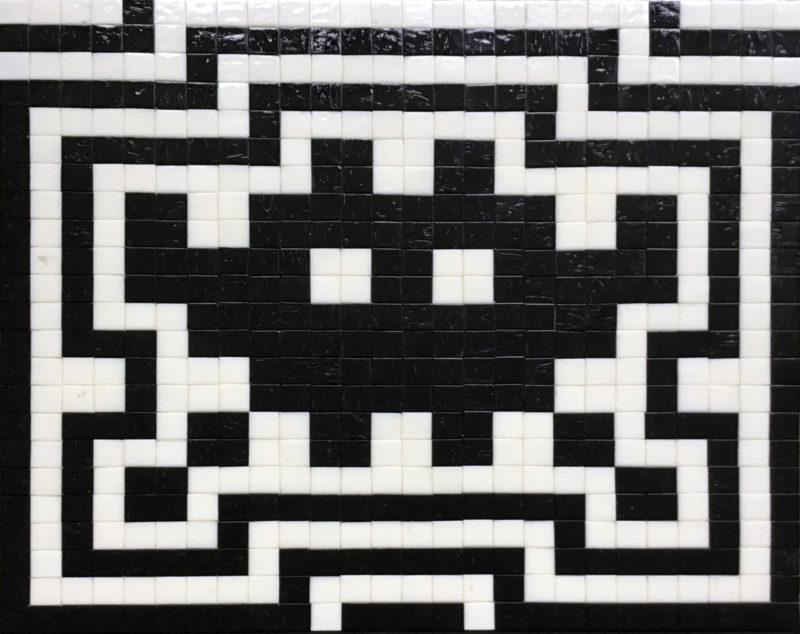 Wavy Black and White - Original
