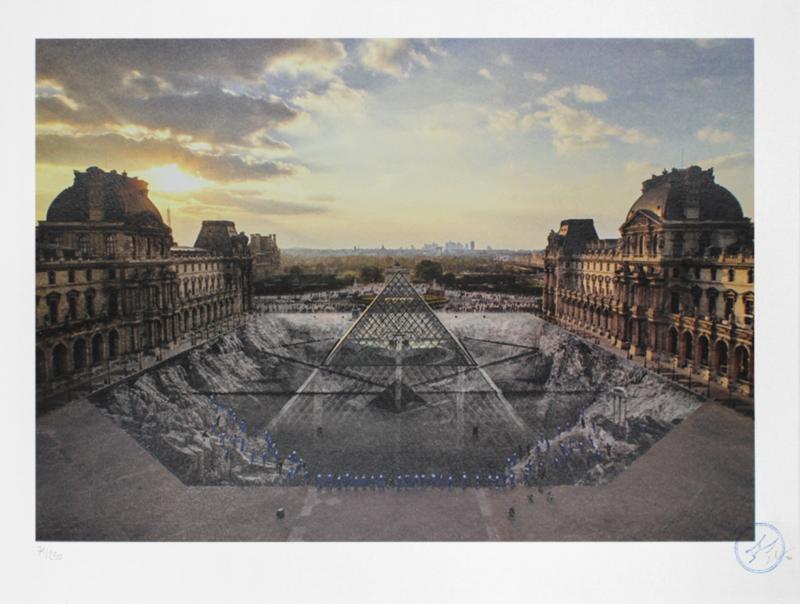 Au Louvre, 29 Mars 2019, Paris, France (18h08)