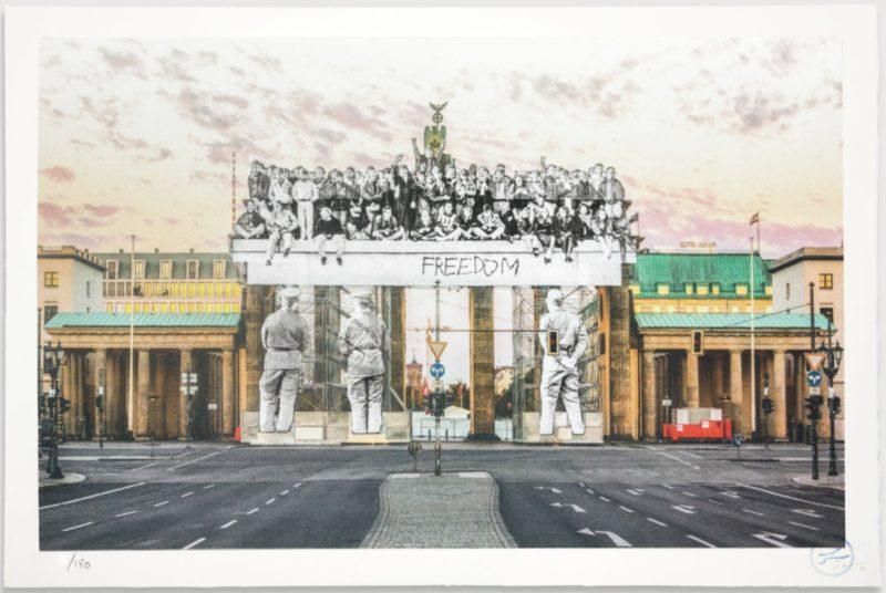Giants, Brandenburg Gate