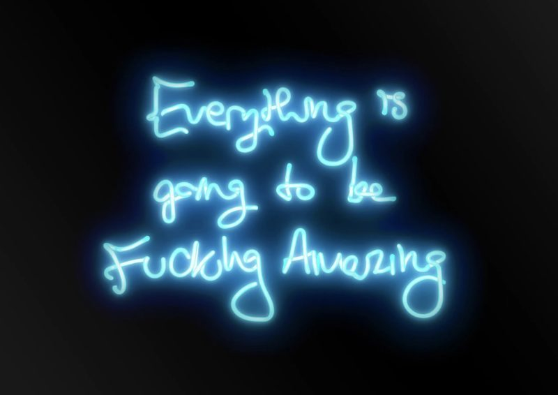 Fucking Amazing (Blue) - Neon