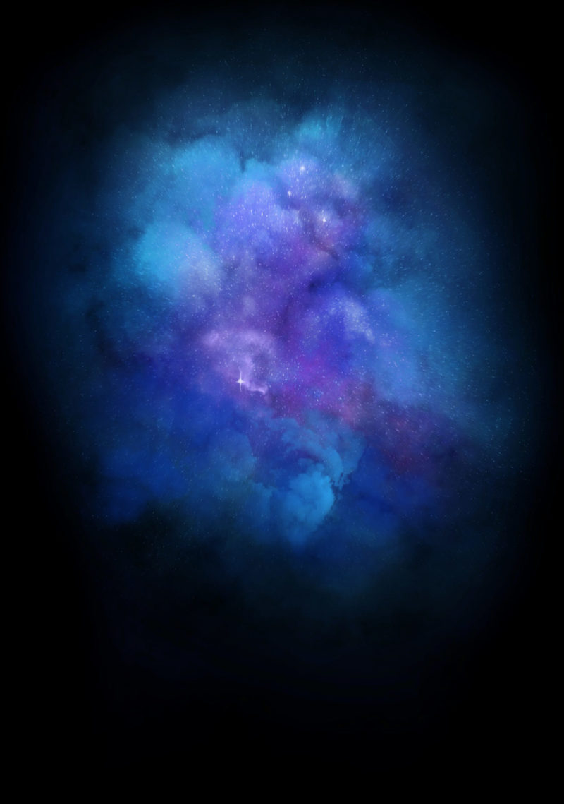 Galaxy Explosion (Diamond Dust - Indigo)