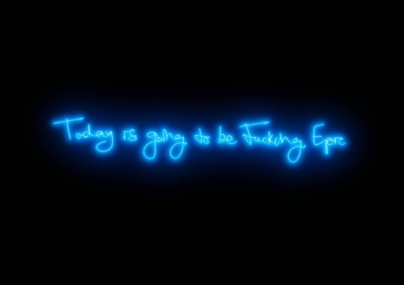 Fucking Epic (Electric Blue)