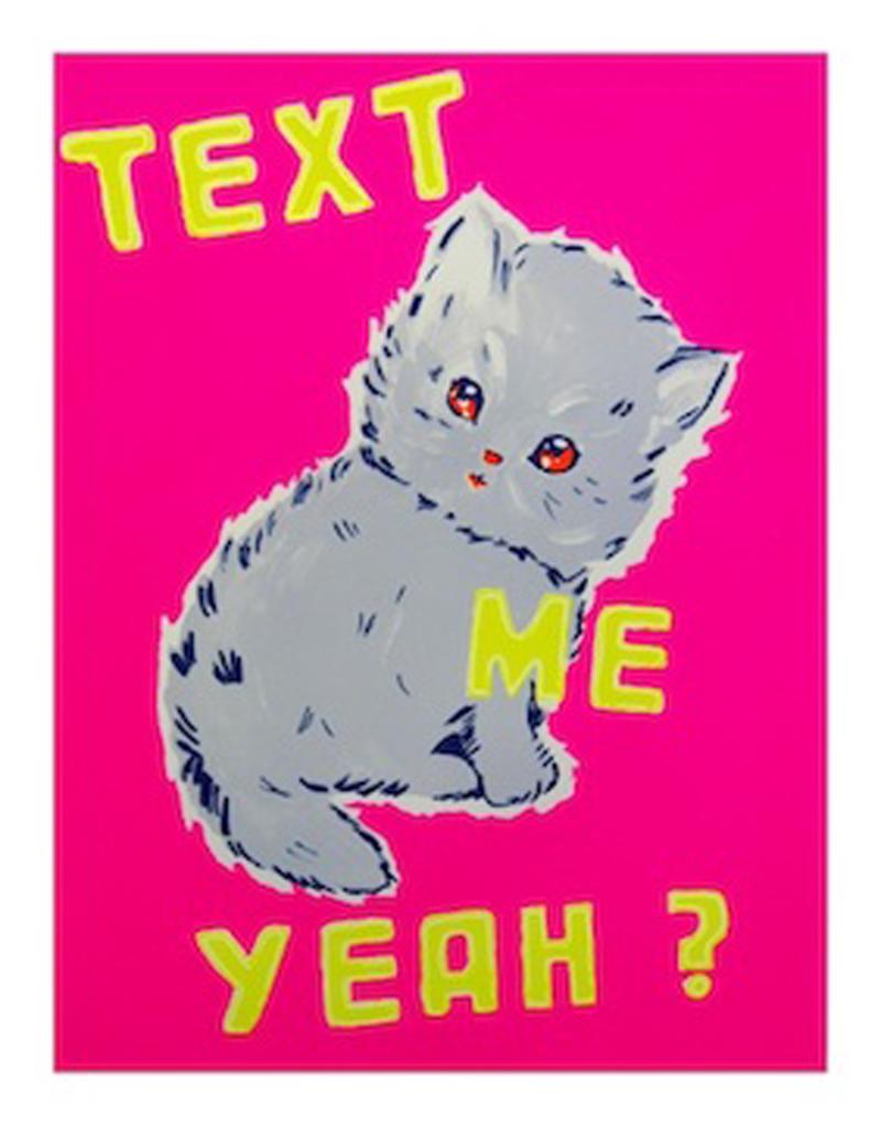 Text Me Yeah (Pink)