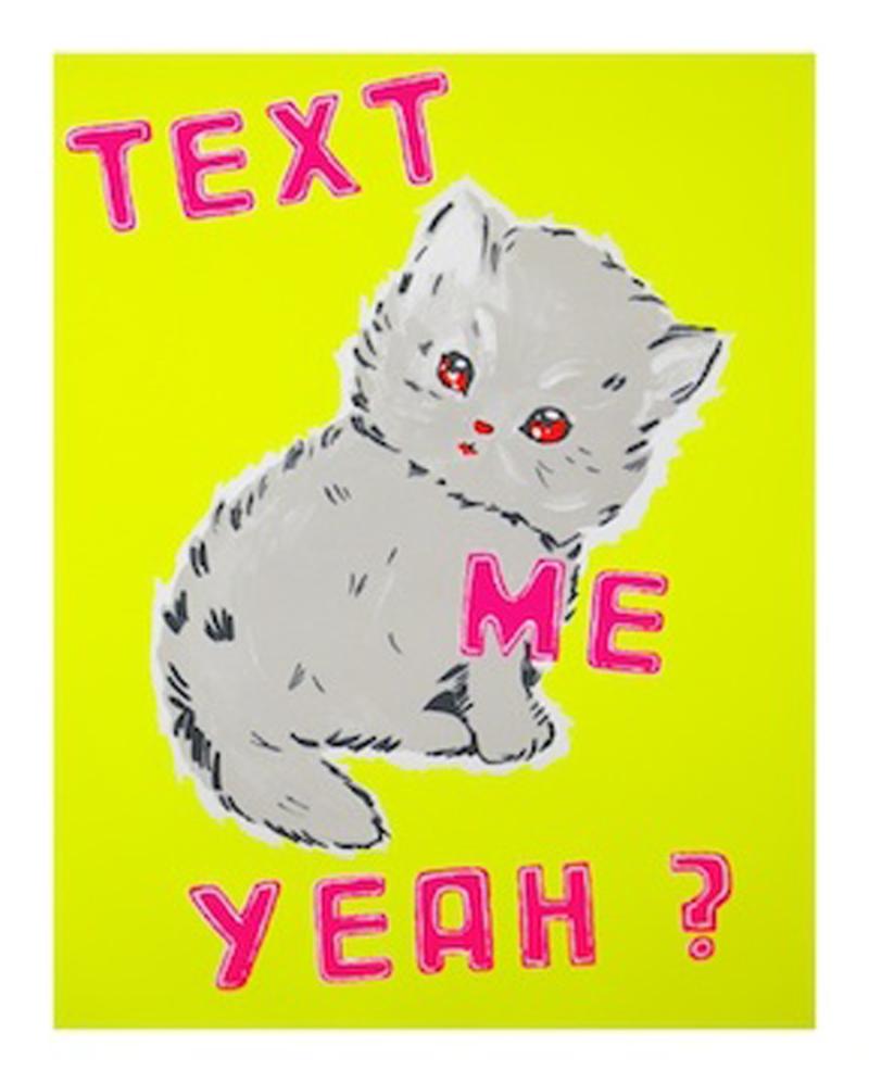 Text Me Yeah (Yellow)