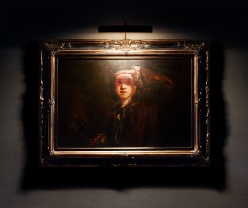 Blinded by the Light (After Joshua Reynolds)