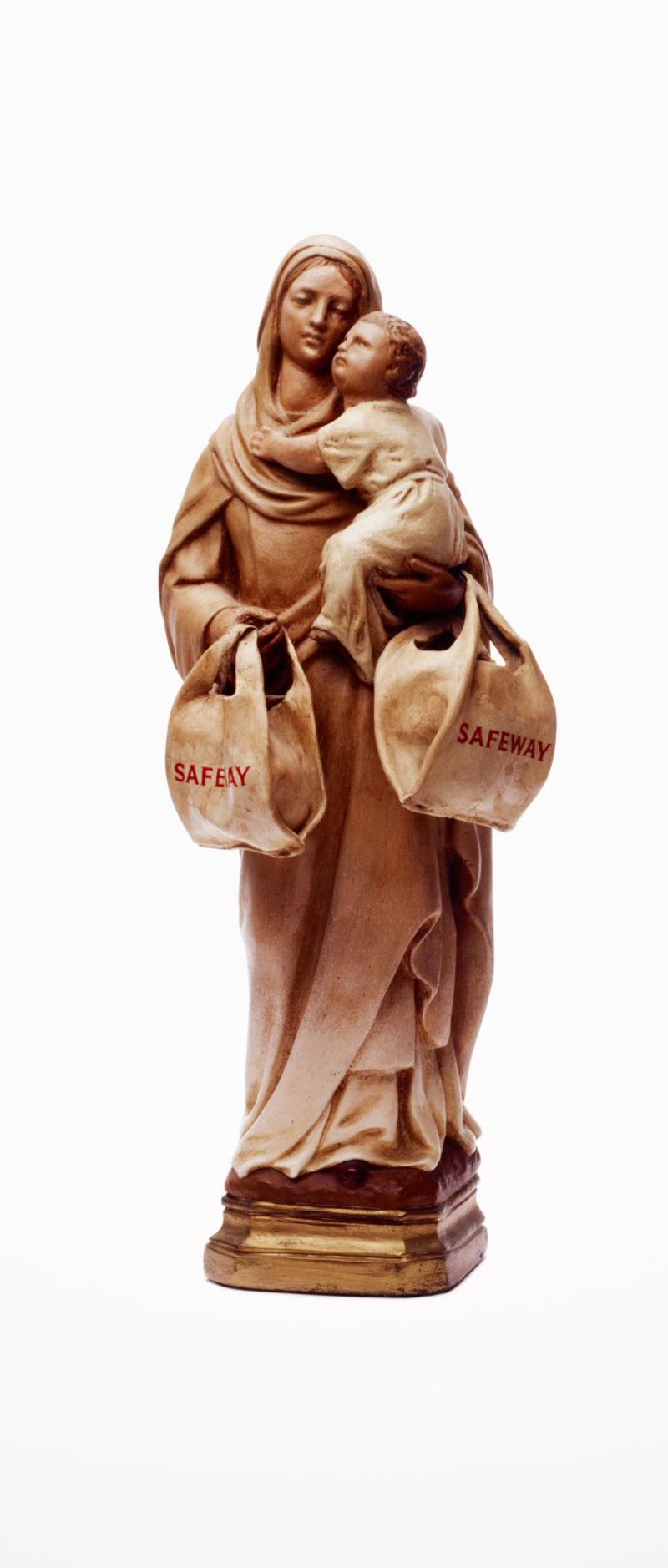 Madonna with Safeways Bag