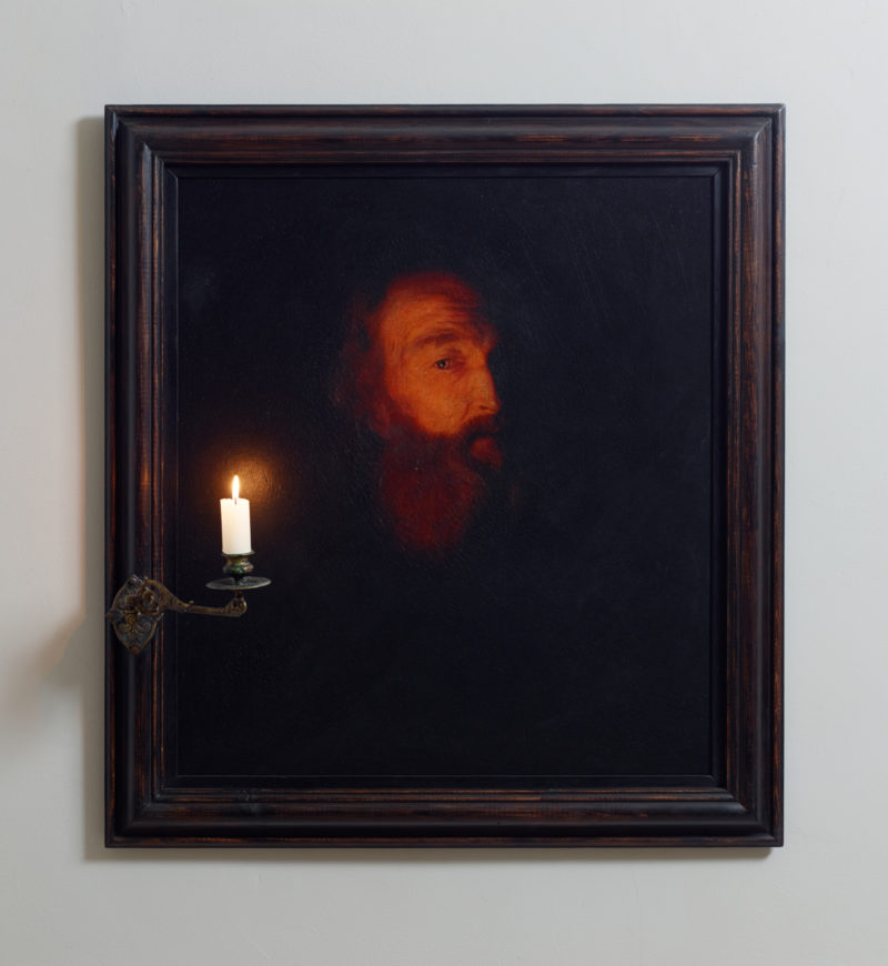 Man with Candle (After Godfried Schalcken)