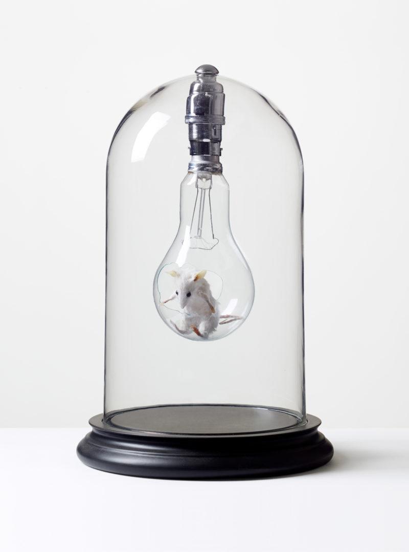 Mouse in Lightbulb - Print
