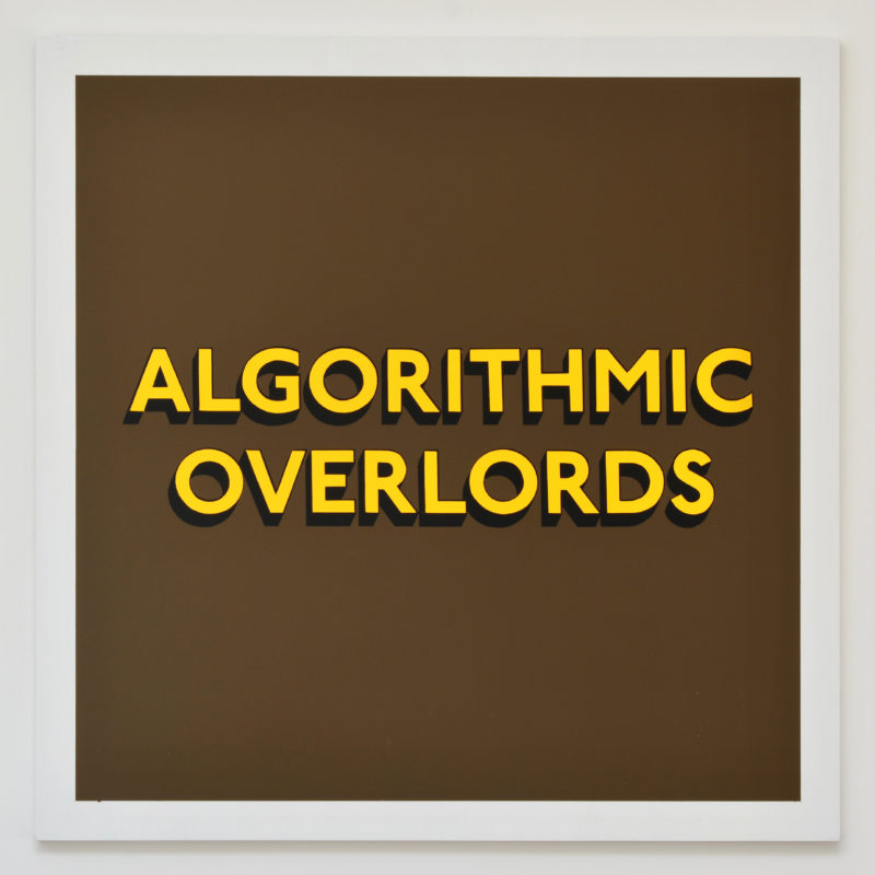 ALGORITHMIC OVERLORDS