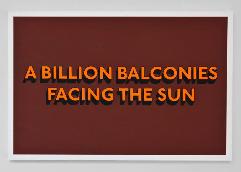 BILLION BALCONIES