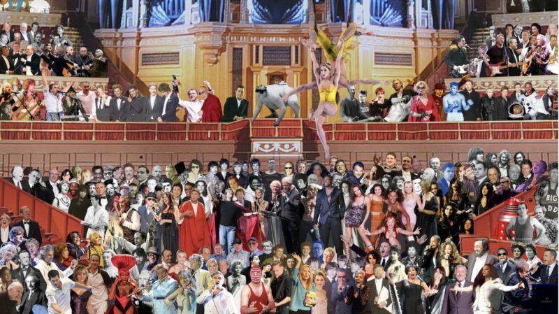 Appearing at the Royal Albert Hall