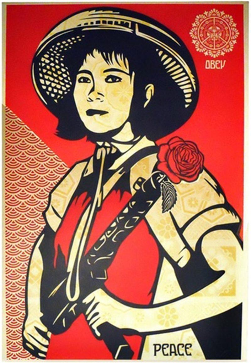 Revolution Girl - Artist Proof