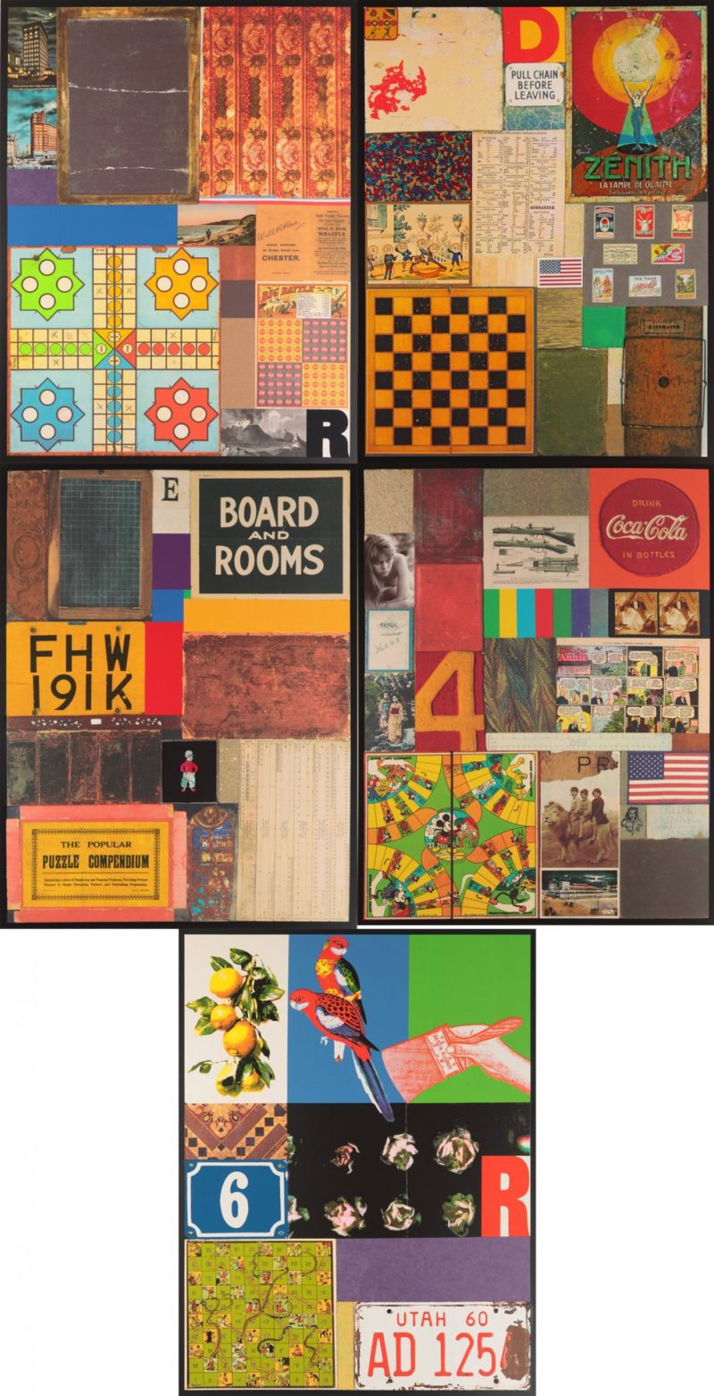 Homage to Rauschenberg (Set of five)