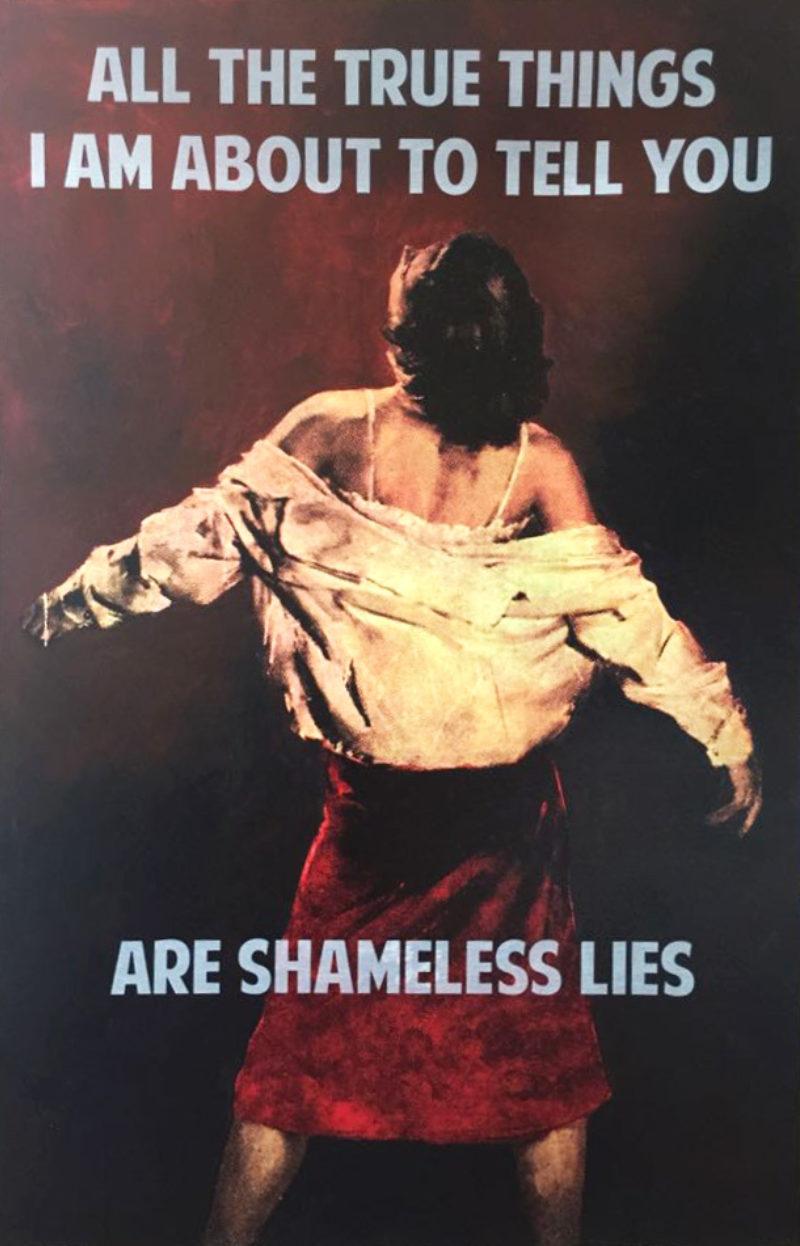 Shameless Lies - Canvas