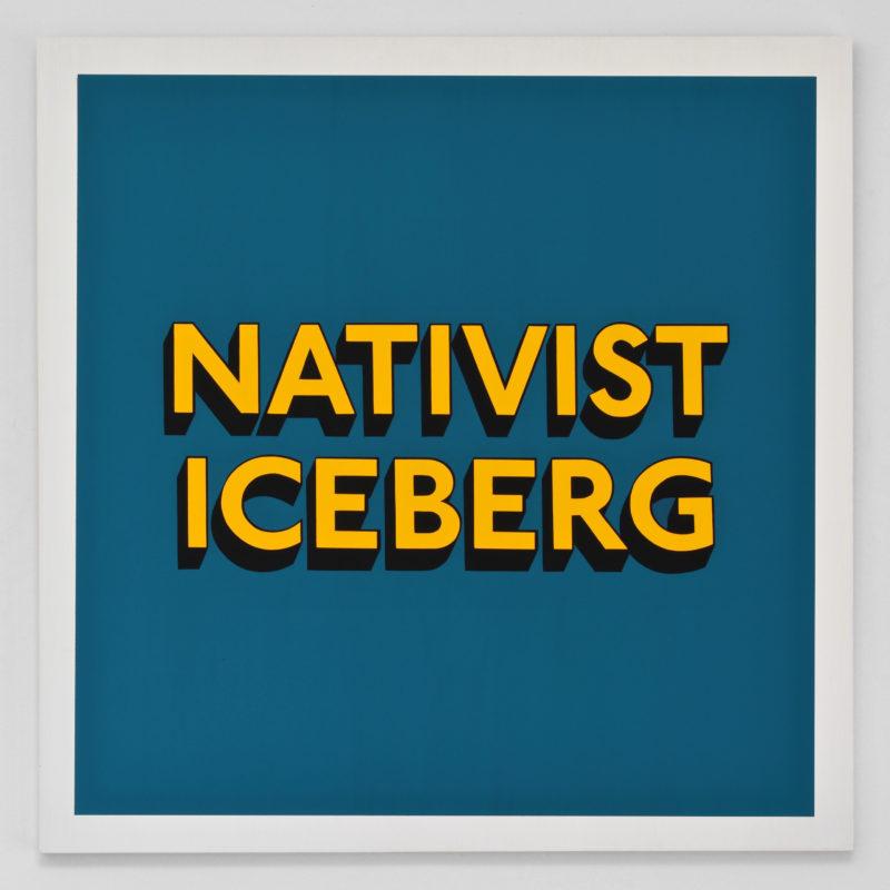 NATIVIST ICEBERG