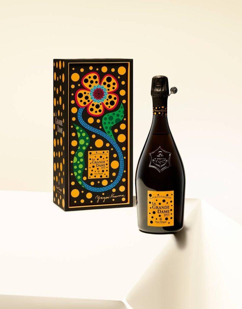 Veuve Clicquot La Grande Dame 2012 by Yayoi Kusama